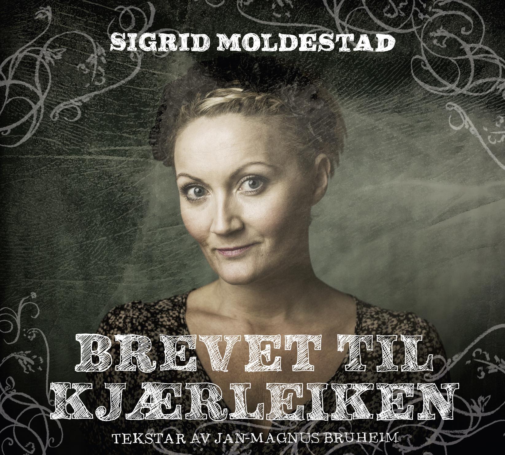 Bilete av CD-plata til Sigrid Moldestad