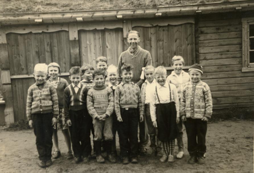 Jan-Magnus Bruheim i skuleklasse
